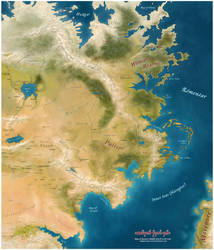 The East of Middle-Earth  (Third Age) by mairon666