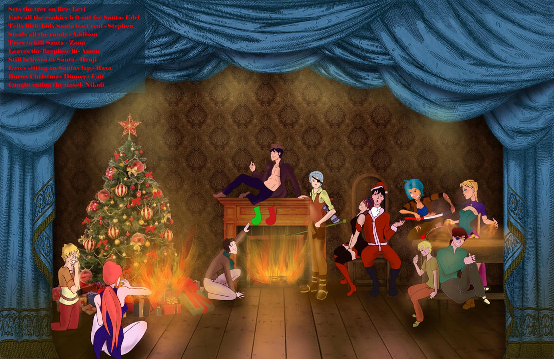 Crisis on Christmas Meme - Lodan by comicalplz