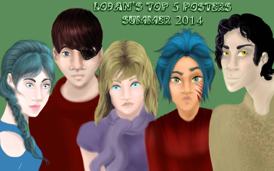 Lodan Top 5 RP Posters Summer 2014 by comicalplz
