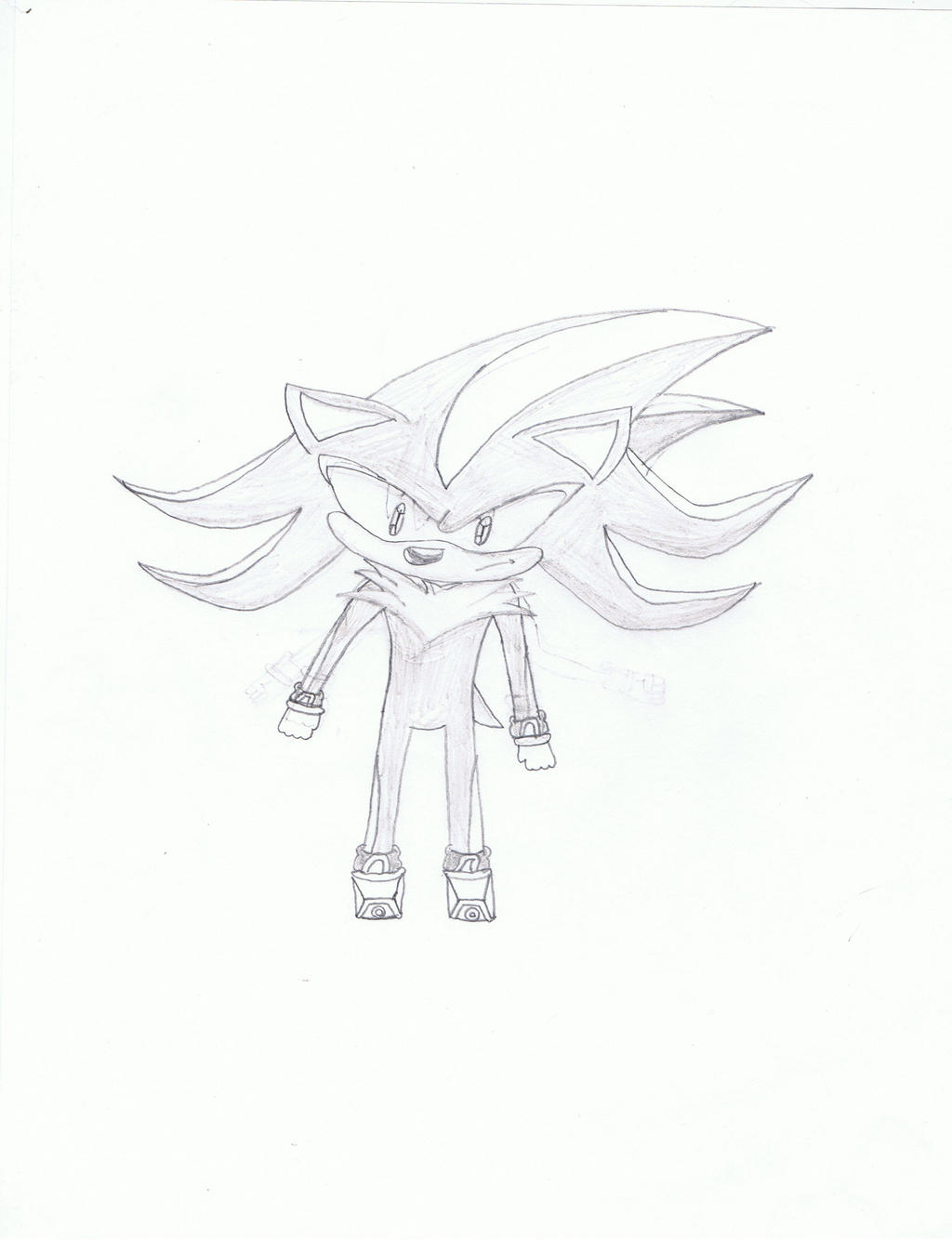 Shadow the hedgehog!!! by Shadow--Force