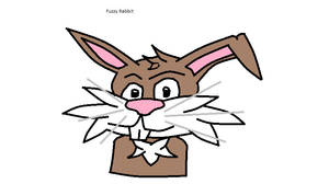 Fuzzy rabbit by Shadow--Force