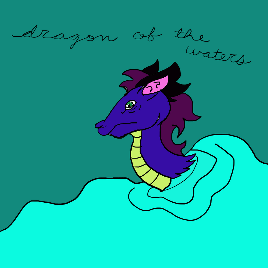 Dragon Of The Waters by Shadow--Force