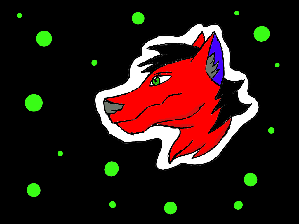 Beneficent techno wolf by Shadow--Force