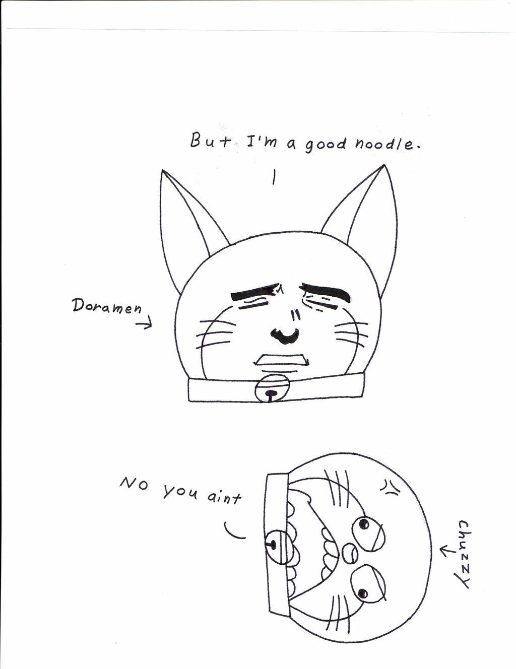 I'm a good noodle (Meme) by Shadow--Force