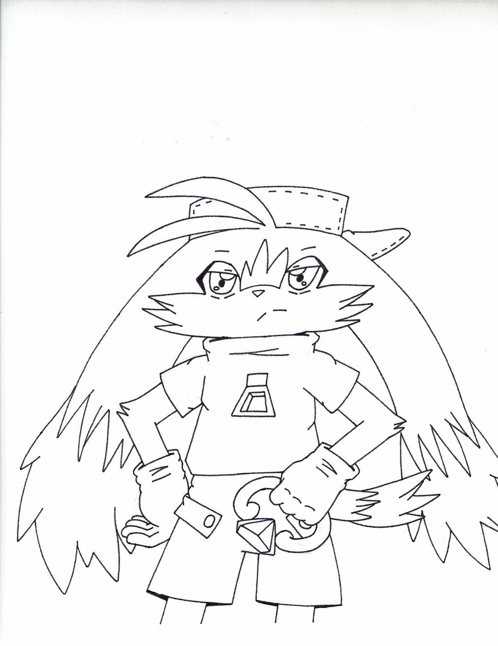 Anime style Klonoa by Shadow--Force