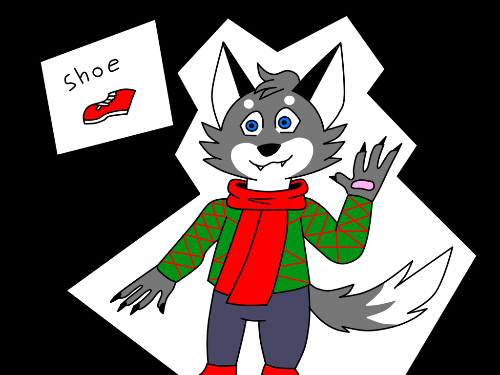 Wolf (Adopt) Ugly Christmas Sweater Addition 2 by Shadow--Force