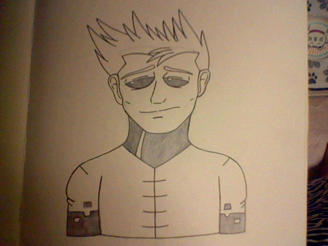 A Sad Moon Man by Shadow--Force
