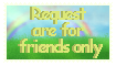 .:Friend only Stamp:. by Skythedragonwolf