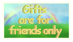 .: Gift friend only Stamp:. by Skythedragonwolf