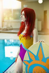 Pool Party Leona Cosplay - League of Legends