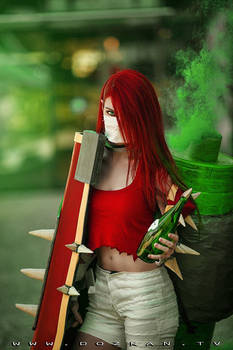 Singed Cosplay - League of Legends