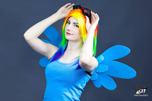 Casual Rainbow Dash Cosplay - My Little Pony
