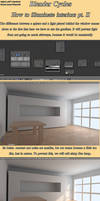 Cycles: How to illuminate interiors Tutorial II