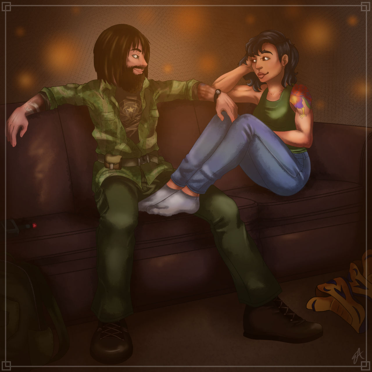 23 Deputy Astrid Rook Eli Palmer Far Cry 5 By Blisseach On Deviantart