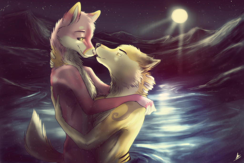 PC: Midnight bath~ by wolfinrahalify