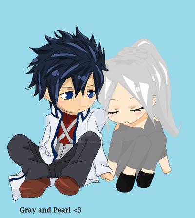 My Oc and Gray by PandaXandra