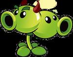 Plants vs Zombies 2 Split Pea(Halloween) (R)