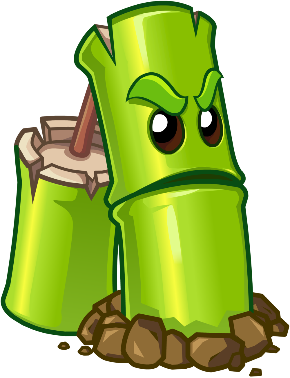 plants vs zombies 2 bamboo plant by illustation16 on turnip clipart free enormous turnip clipart