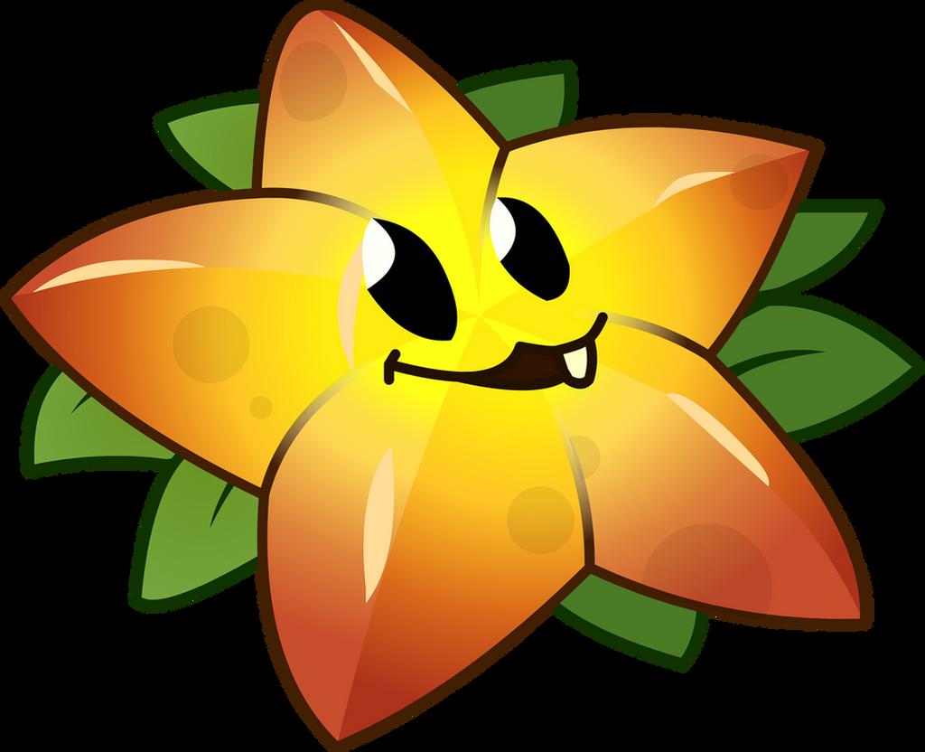 Fruit vs zombies -  Plants Vs Zombies 2 Starfruit R By Illustation16
