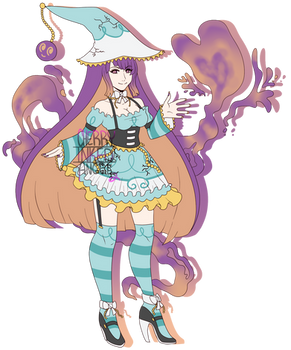 (AUCTION CLOSED) Polteageist Witch