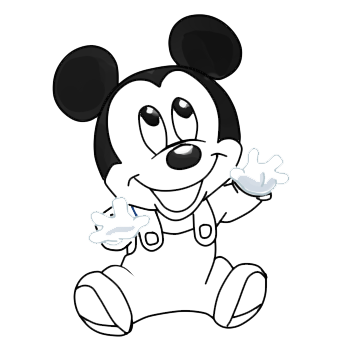 Com Mickey Mouse Sketch By Bqbqbqbbbq On Deviantart Mickey Mouse Drawing For With Color