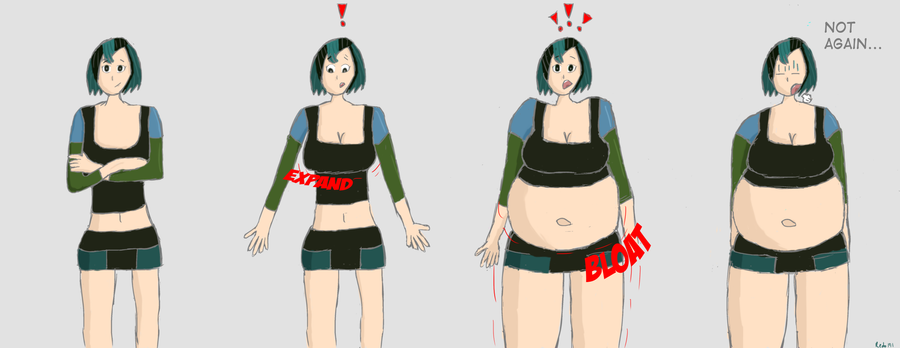 Total Drama Girls Weight Gain
