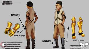 Tamers - Dante Roe Character Sheet