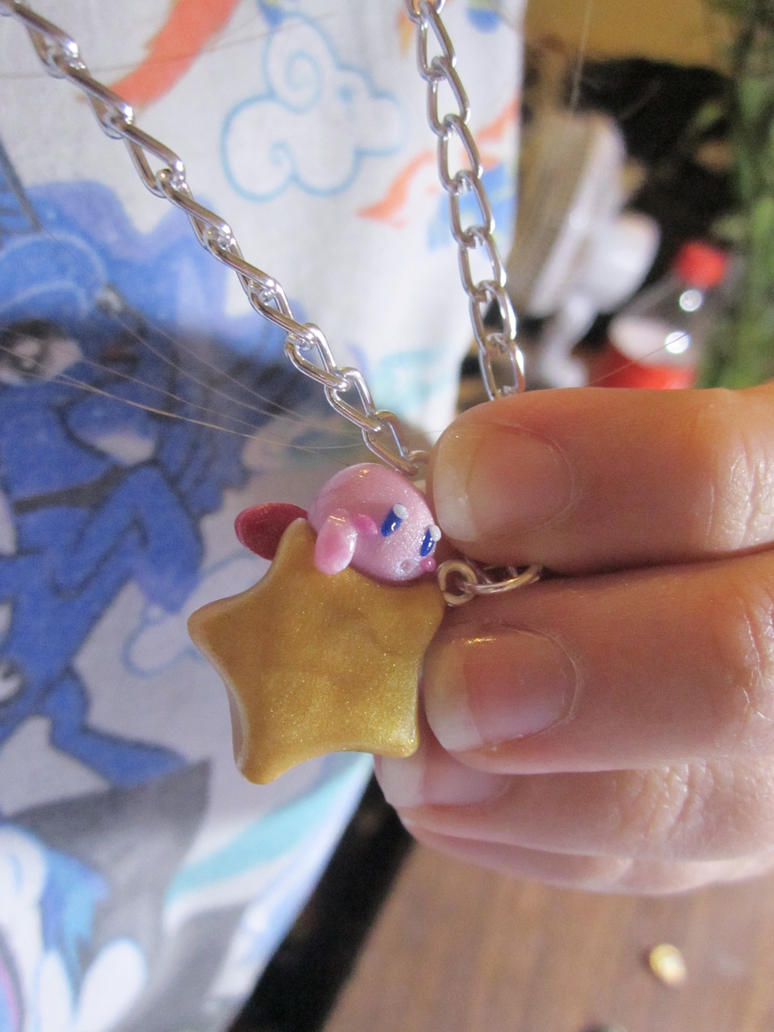 Kirby Necklace by MilkCannon