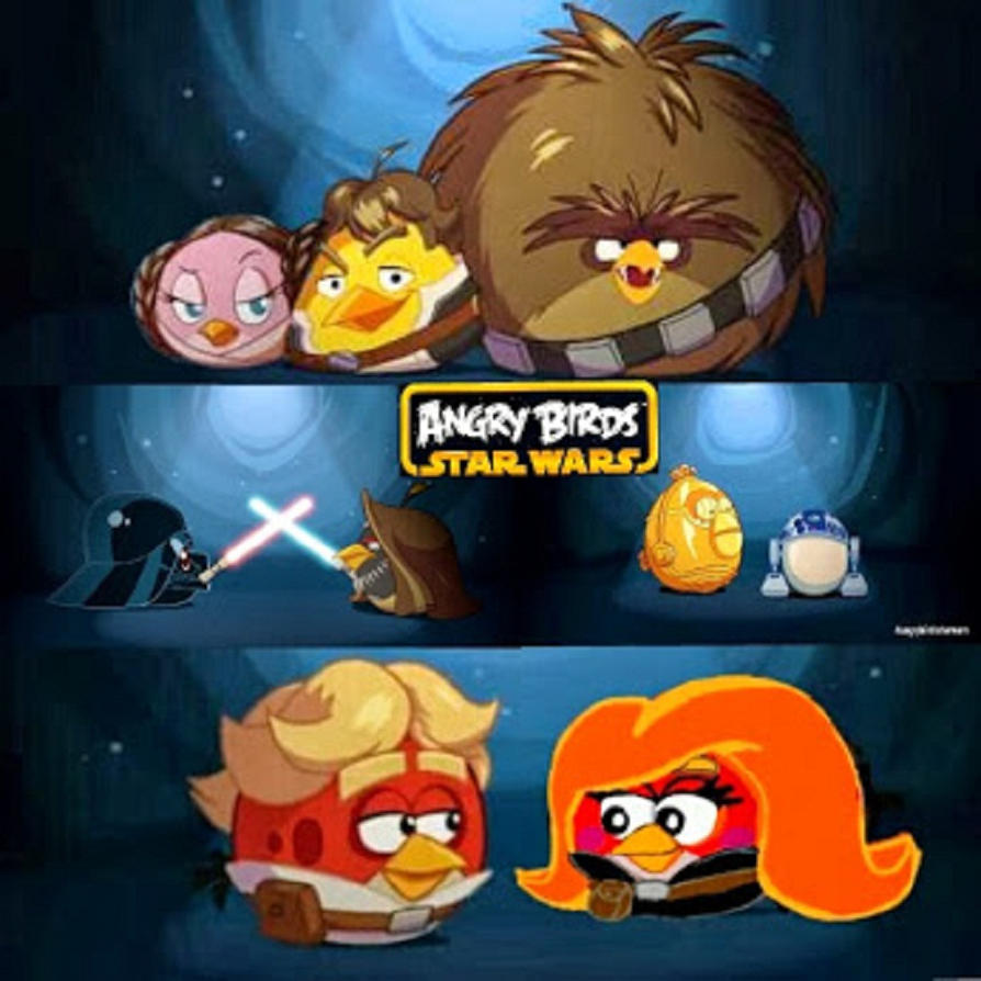 Angry birds star wars characters by princessandthebird55 - Angry birds star wars 7 ...