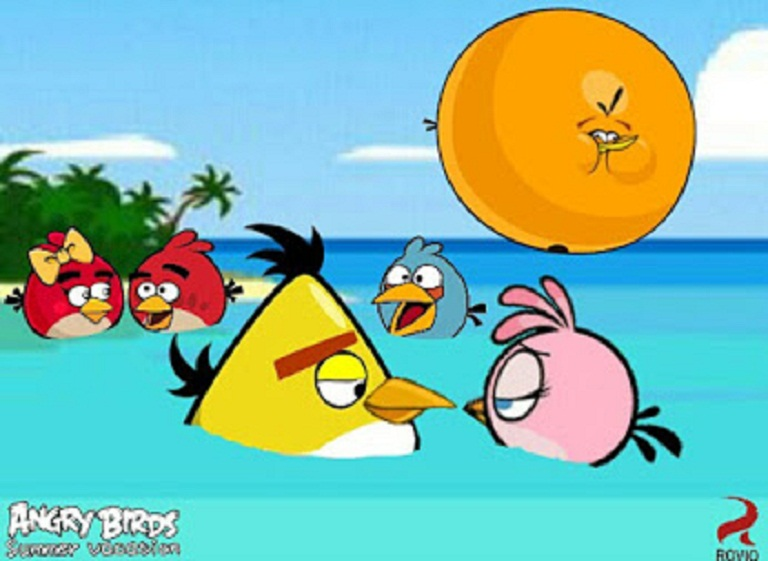 Angry Birds Summer Vacation - In the ocean by ...
