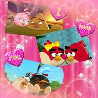 Angry Birds - Lovebirds by PrincessandtheBird55