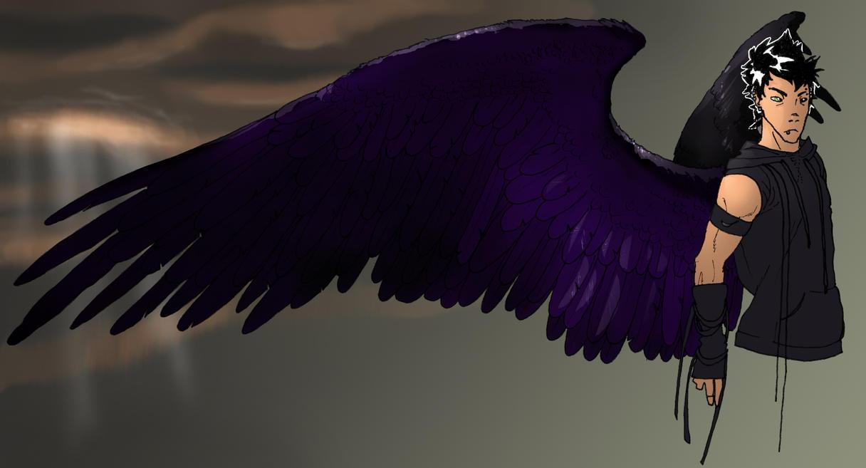 Raven angel of death novice by veki-kun