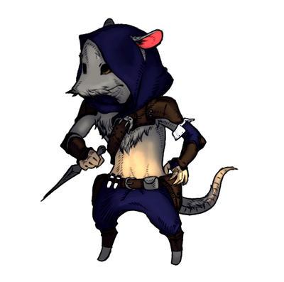 Rat rogue by veki-kun