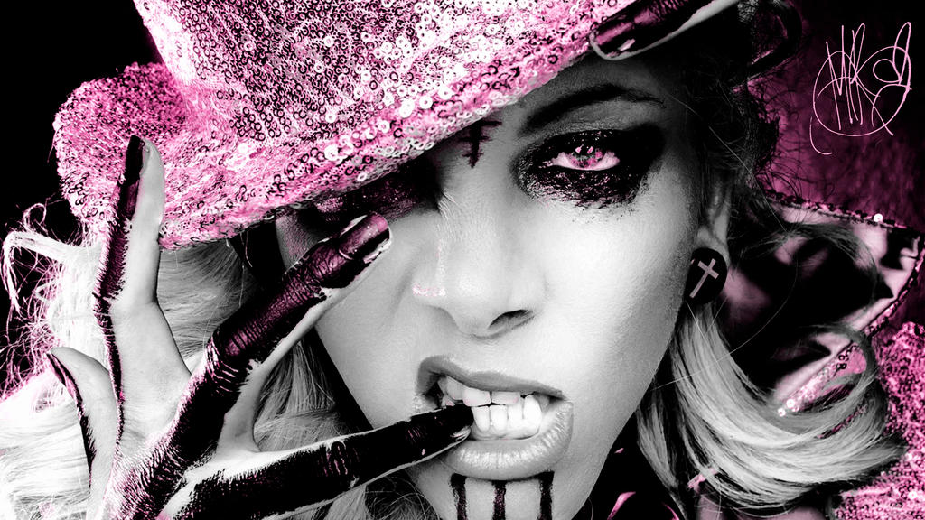maria brink outburn magazine pink hd by icequeen1186