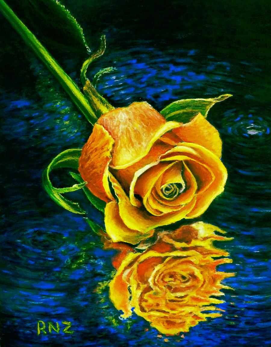 Waning Rose by znkf0908