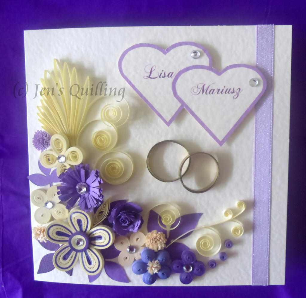 Greetings on art quilling deviantart kristyandbryce Image collections