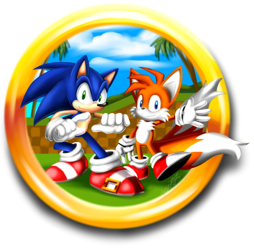 sonic and tails by wisp2007