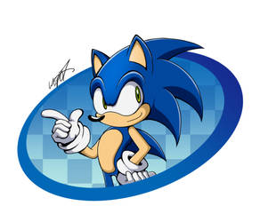 Blue hedgehog Sonic