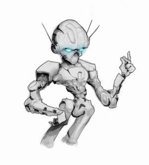 Robot attitude