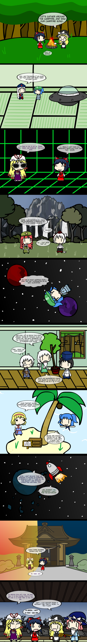 Touhou Oneshots Volume 1 by SubterraneanGamer