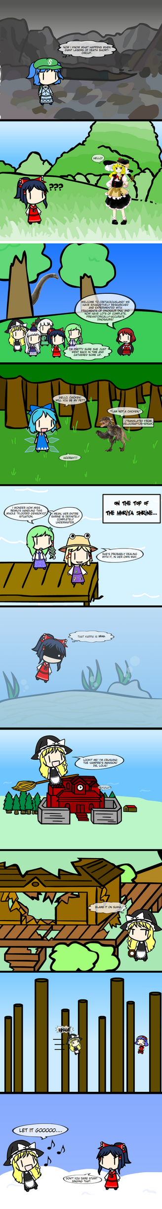 Touhou Oneshots Volume 3 by SubterraneanGamer