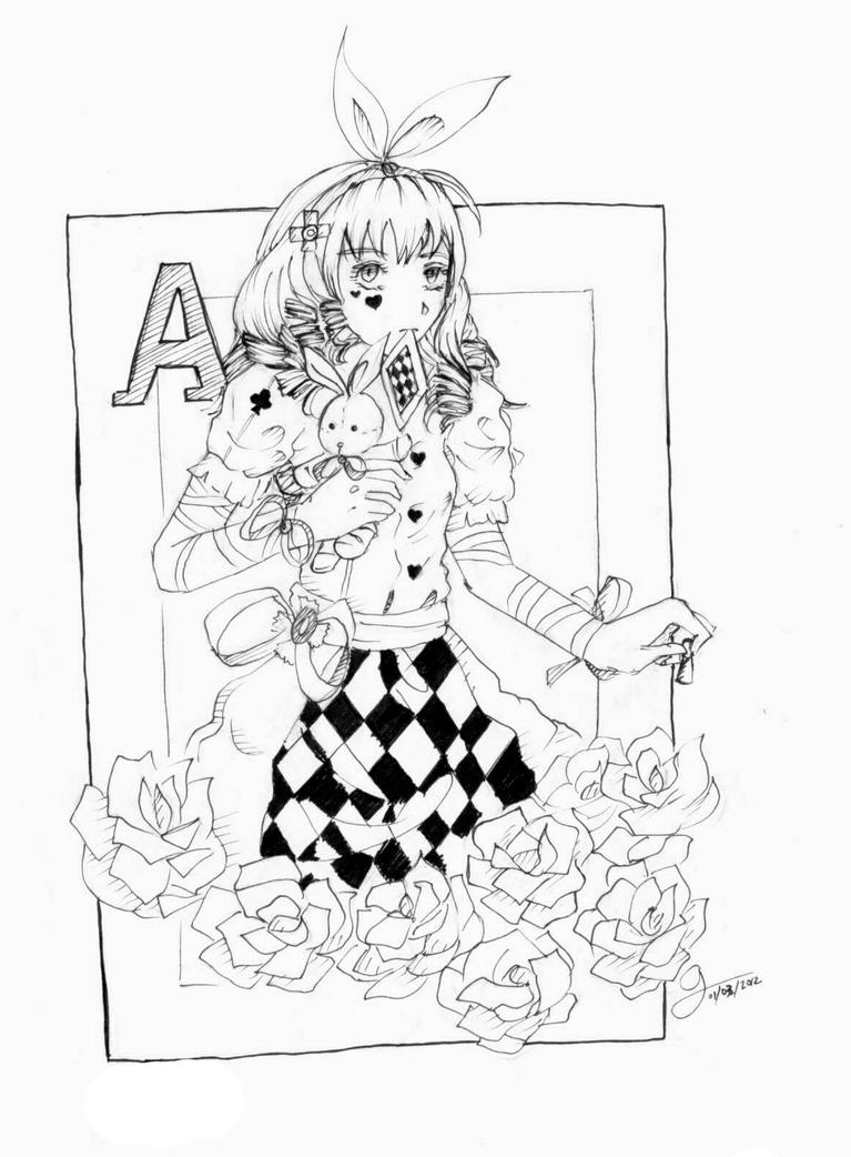 Alice in Wonderland by Namine0015