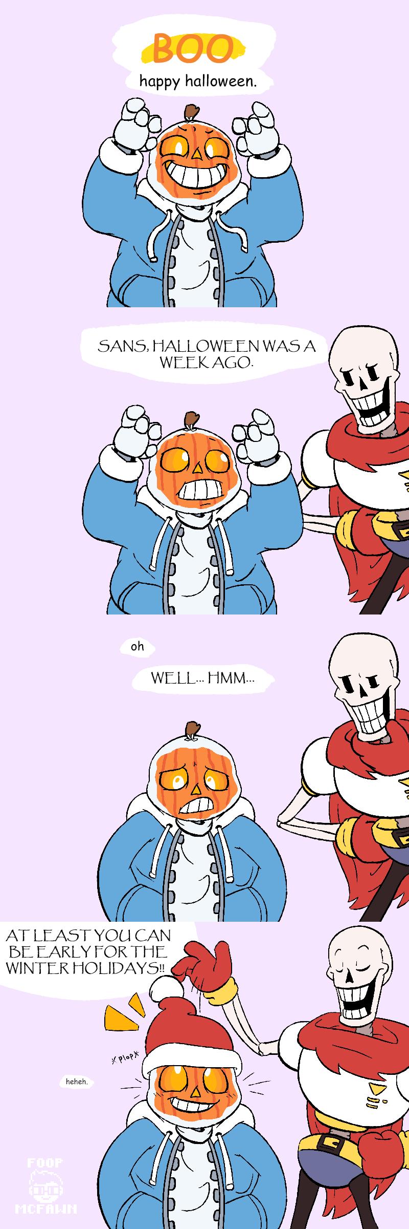 It's Not Halloween by Foop-McFawn on DeviantArt