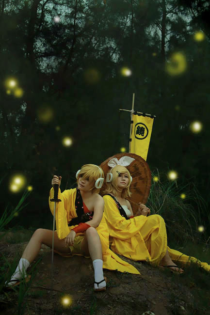 Vocaloid- The firefly forest by o0oFairyo0o