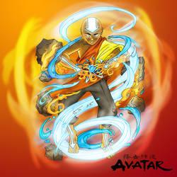 Avatar -  the last air bender by B-neoZEN