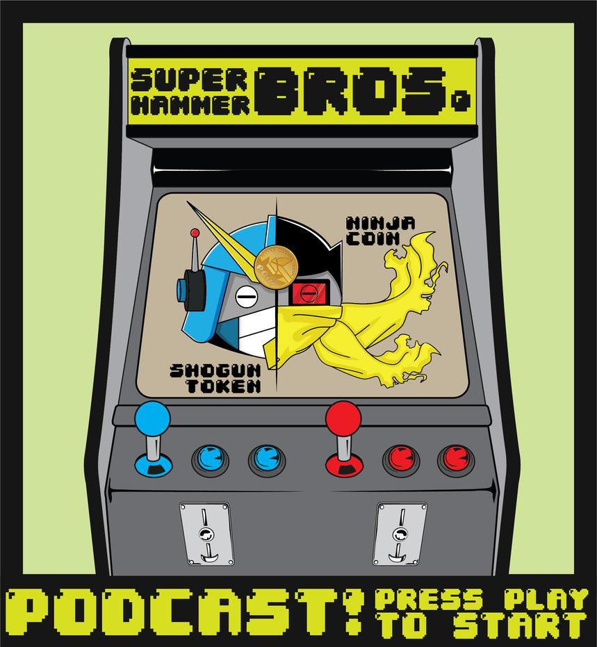 Super Hammer Bros. Podcast - Hammer Bots Arcade by B-neoZEN