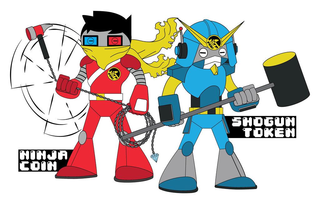 Super Hammer Bros. Podcast - Mascots final design by B-neoZEN