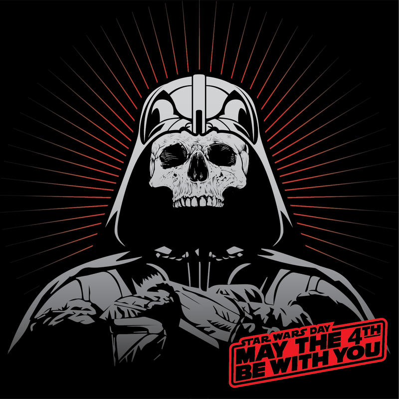 Skull Vader - May the 4th be with You! by B-neoZEN