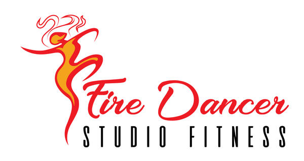 Concept logo design-Fire Dancer Studio Fitness 02 by B-neoZEN