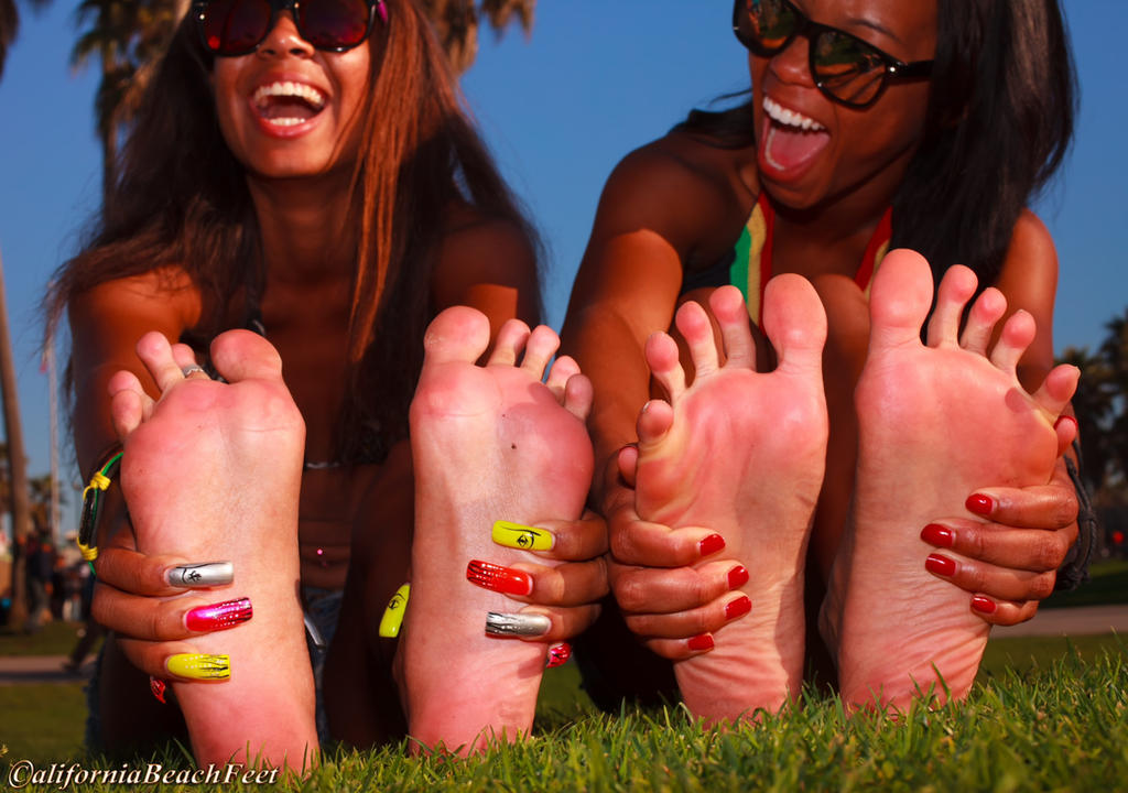 Beach Feet by Hawkdiamond